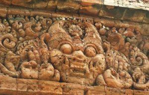 relief Candi Bajang Ratu