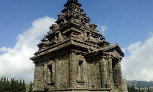 Arsitektur Bagian depan Candi Arjuna