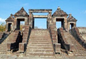 Gerbang Utama Candi Ratu Boko