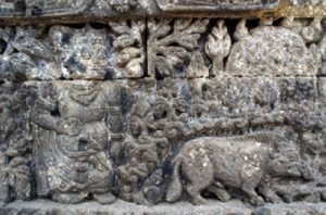 Relief Fabel candi jago