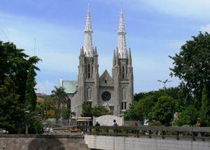 Sejarah Berdirinya Gereja Katedral Jakarta
