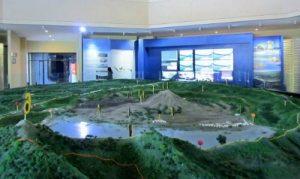 Koleksi museum geopark batur