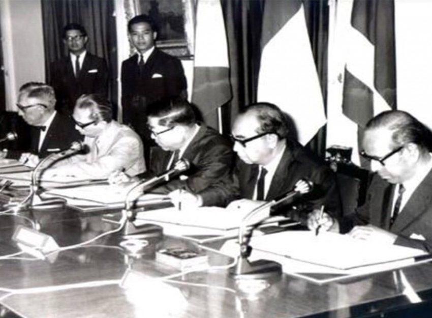 Sejarah Deklarasi Bangkok 1967 – Negara dan Hasil Keputusan