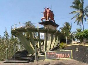 Sejarah Monumen Trisula