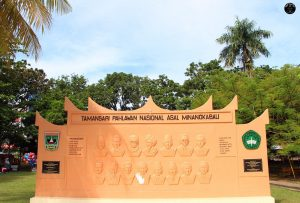 Monumen Taman Sari Pahlawan Nasional Minangkabau